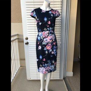 BESTY JOHNSON 94458 Floral Dress, Size 4